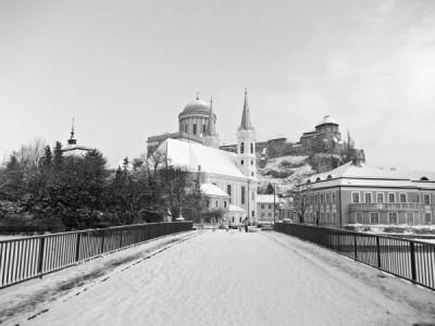 Téli város