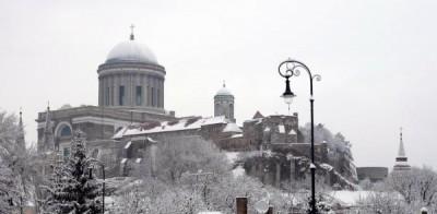 Bazilika télen
